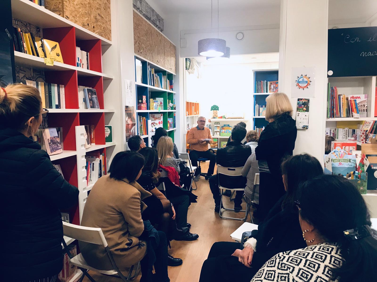 La presentazione del 27 Marzo alla libreria First Laugh di Roma
