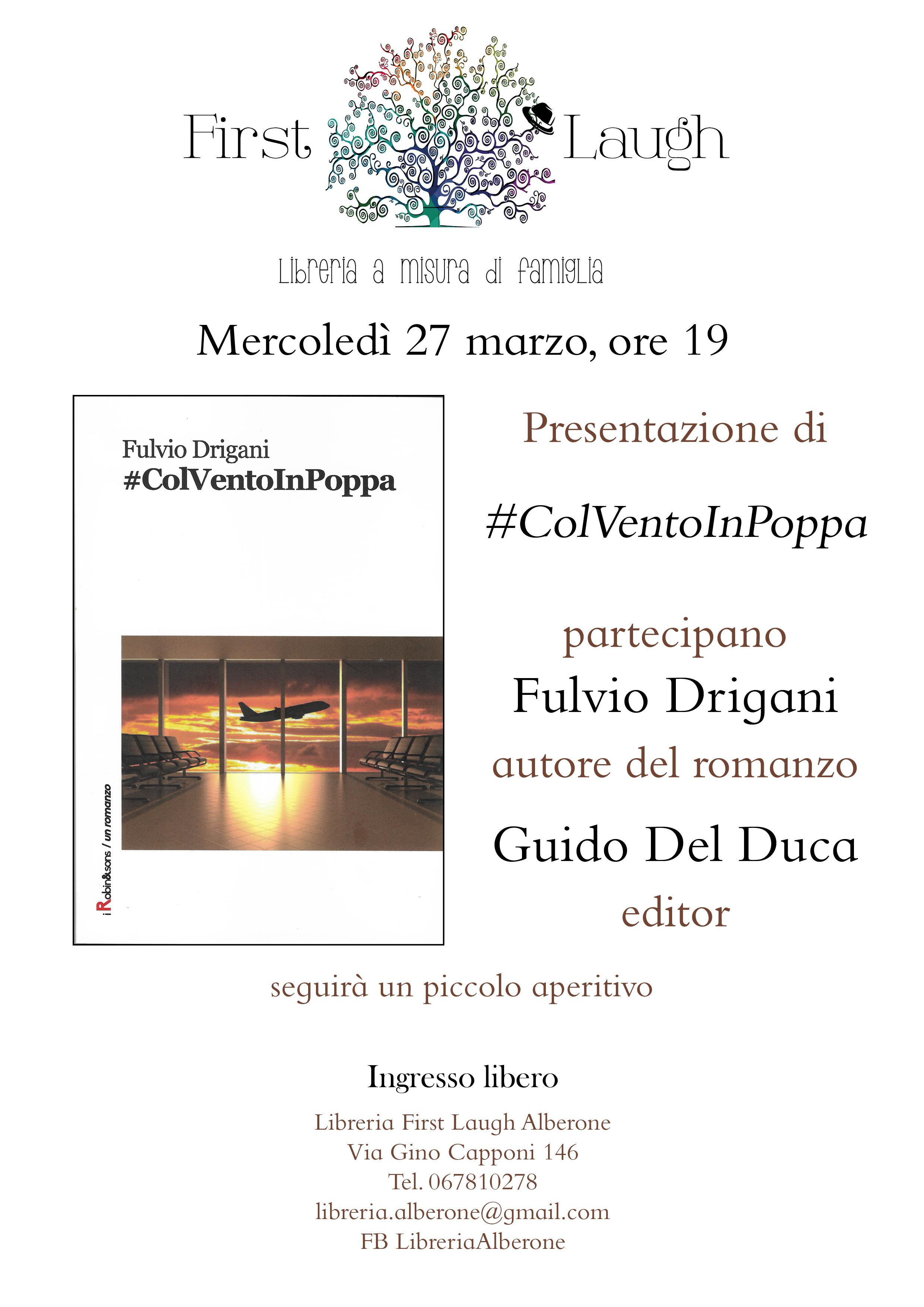 Presentazione del mio libro a Roma