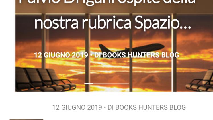 Il blog letterario Book Hunters mi ha dedicato un articolo